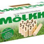 Mölkky Midi : photo du packaging officiel Tactic