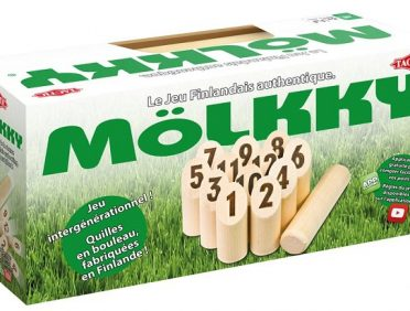 Mölkky Midi : photo du packaging officiel Tactic